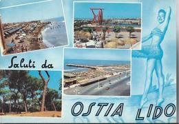 Saluti Da Ostia Lido - Roma - H4921 - Italie