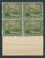 Saar MiNr. 84 **  (bb05) - 1920-35 Saargebiet – Abstimmungsgebiet