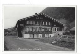 21112 - Gstaad Restaurant Zum Klösterli - BE Bern