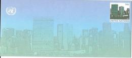 Onu, United Nations, Nations Unies,new York, Entier Postal 2001 , Env Neuve, Manhattan, 240x105 - New-York - Siège De L'ONU