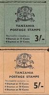 TANZANIA, 1965, Booklet 6/7, Independence, 3/-, 5/- - Tanzania (1964-...)