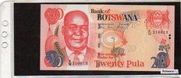 Banconota Botswana, Mai Circolata, 20 Pula - 2006 - Botswana