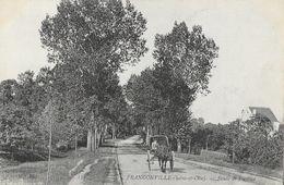 Franconville (Seine Et Oise) - Route De Pontoise, Calèche - Carte ND Phot. Non Circulée - Franconville
