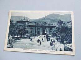 CARTOLINA LA SPEZIA - MONUMENTO A CHIODO E PORTA R. ARSENALE - La Spezia