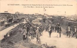 62 - Pas De Calais / 10026 - Le Haut Banc - Inauguration Du Champ Des Sports Des Carrières - Beau Cliché Animé - Frankrijk