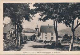CPA - France - (67) Bas Rhin - Saales - Entrée Par La Route De Saint-Dié - Autres Communes
