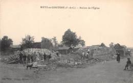 62 - Pas De Calais / 10047 - Metz En Couture - Ruines De L'église - France
