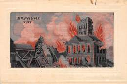 62 - Pas De Calais / 10061 - Bapaume - Carte En Soie - 1917 - Frankrijk