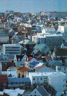 1 AK Iceland Island * Blick Auf Die Hauptstadt Reykjavik - Luftbildaufnahme * - Island