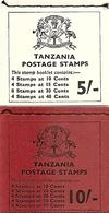 TANZANIA, 1971, Booklet 10/11, Fish 5/- - 10/- - Tanzanie (1964-...)