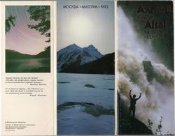 Russia 1993 Set 16 Cards Altai - The Golden Mountains - Souvenir De...