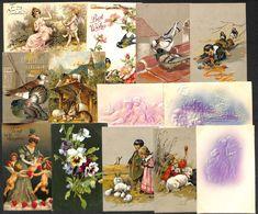 Embossed Better Greetings 13 Vintage Postcards - Cartes Postales