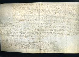 1587 Sous Henry III, Manuscrit Sur Vélin En Peau, à Déterminer. - Manuscrits