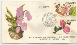 1967 COLOMBIA, SOBRE PRIMER DIA - COLOMBIA - Colombie