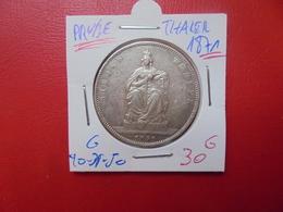 PRUSSE THALER DE LA VICTOIRE 1871 ARGENT - Taler Et Doppeltaler