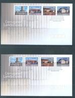 AUSTRALIA  - FDC - 11.8.2009 - CORRUGATED LANDSCAPES - Yv 3135-3142 - Lot 18528 - Premiers Jours (FDC)
