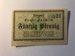 Allemagne Notgeld Allemagne Parchim 50 Pfennig - [ 3] 1918-1933 : République De Weimar