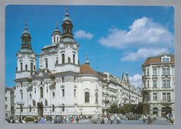 CZ.- PRAAG. PRAHA. Kostel Sv. Mikuláse. Foto Ivan Tichy. - Kerken En Kloosters