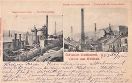 Resita , Resica , 1903 , Metallurgie , Hochhofen  ,  Gleisanschluss , Embranchement Particulier , Mines - Roumanie