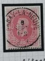 COB N°34  Oblitération Habay-La-Neuve 1884 - 1869-1883 Léopold II