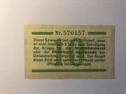 Allemagne Notgeld Allemagne Rustringen 10 Pfennig - [ 3] 1918-1933 : République De Weimar