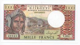 BILLET NEUF LUXE 1000 MILLE FRANCS DJIBOUTI - Djibouti