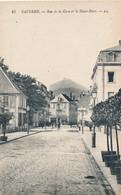 CPA - France - (67) Bas Rhin - Saverne - Rue De La Gare Et Le Haut-Barr - Saverne
