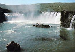 1 AK Iceland Island * Der Goðafoss - Einer Der Bekanntesten Wasserfälle Islands * - Island