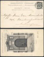 A186 Carte De Westmalle ( Relais ) à Antwerpen 1902 - 1893-1907 Coat Of Arms