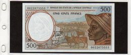 Banconota In Ottimo Stato Da 500 Franchi - Guaiana Equatoriale - 1993 - Banque Des Etats De L'Afrique Centrale - Equatorial Guinea