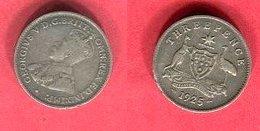 3 PENCE 1925  ( KM 24) TB+ 4 - Monnaie Pré-décimale (1910-1965)