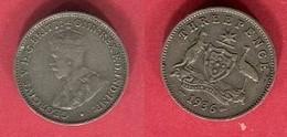 3 PENCE 1936  ( KM 24) TB+ 4 - Monnaie Pré-décimale (1910-1965)
