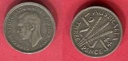 3 PENCE 1944  ( KM 37) TB+ 3 - Monnaie Pré-décimale (1910-1965)