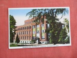 Canada > Quebec > Sherbrooke Protestant Hospital    Ref 3094 - Sherbrooke
