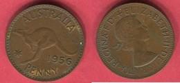 1 PENNY 1956  ( KM 56) TB+ 2 - Monnaie Pré-décimale (1910-1965)