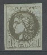 N°39C GNO (gomme NON Originale, Aspect **)          - Cote NSG 150€ - - 1870 Bordeaux Printing