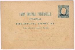 Madeira, 1878, # 4, Bilhete Postal - Madeira