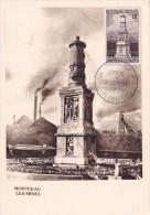 France N°1065 - Montceau Les Mines - Carte Maximum - Maximum Cards