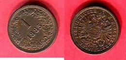 1 PFENNIG 1885  ( KM605) TB+ 3 - Autriche