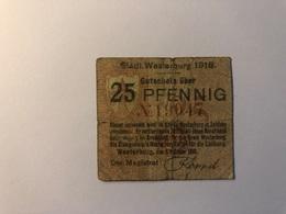 Allemagne Notgeld Allemagne Westerburg 25 Pfennig - [ 3] 1918-1933 : République De Weimar