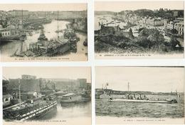 BRETAGNE - LOT DE 22 CARTES ANCIENNES - Cartes Postales