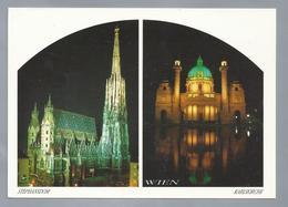 AT.- WIEN. WENEN. STEPHANSDOM. KARLSKIRCHE. - Kerken En Kloosters