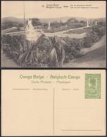 """Congo Belge - EP Vue 5C Vert  - Nº26  Boma """" Parc De Gouverneur Général """" (DD) DC1066 - Belgian Congo - Other"""
