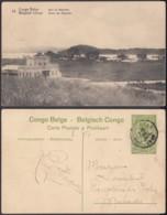 "Congo Belge - EP Vue 5C Vert Voyagé - Nº25 Gare Mayumba "" (DD) DC1065 - Belgian Congo - Other"