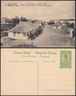 """Congo Belge - EP Vue 5C Vert - Basako """" Vue D'ensemble De La Station De L'etat """" (DD) DC1070 - Belgian Congo - Other"""
