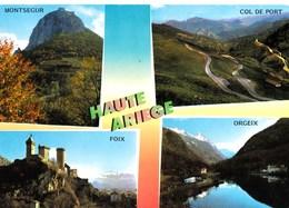 09  Haute Ariège Multi Vues Montségur  Col Du Port  Château De Foix  Lac D'Orgeix  N°2485 TBE - Unclassified