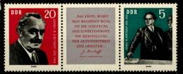 893  -    894   **    Zusammendruck   Scan   DDR - Ungebraucht