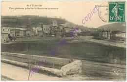 07. SAINT FELICIEN . Vue Générale Prise De La Route De Lamastre . - France