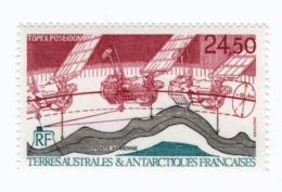 VP6L7 TAAF FSAT Antarctic Neufs**  Topex Poseidon Satellite PA123 1992 - Poste Aérienne