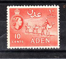 Aden  -  1953. Carovana Di Cammelli. Caravan Of Camels. MNH - Francobolli